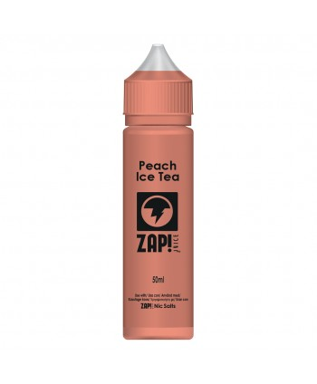 ZAP JUICE PEACH ICE TEA 50 ML